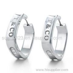 Tiffany Earrings Jewelry sterling silver