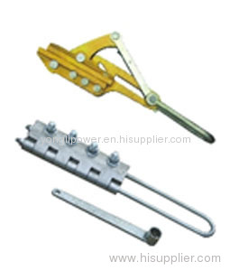 OPGW cable installation grips come along clamp