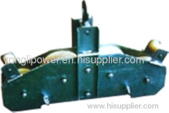 10KN OPGW quadrant stringing pulley block