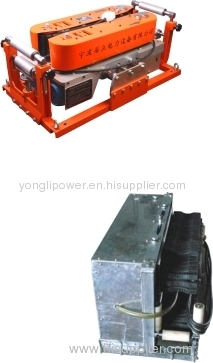 cable caterpillar pusher/Cable feeder /underground cable laying equipments for large diameter cable