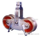 Tandem string pulley blocks