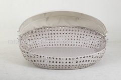 Rattan wicker furniture egg shaped sofa