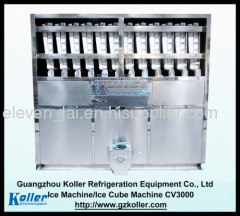 Ice Cube Machine CV3000 with Packing System and PLC program