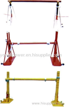 2500mm 12-20t maximum drum width hydaulic cable reel stand