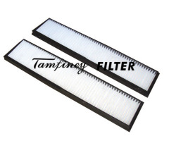 Mercedes Benz E Class (W124) cabin filter 124 835 00 47, 124 830 01 18 CUK3822-2