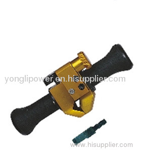 Overhead cable insulated conductor stripper