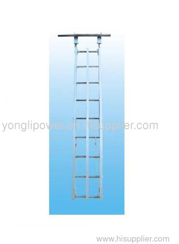 Rated load 1.5KN aluminum alloy qualify hang ladder