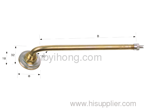 Threaded connection pressing type valve&Single Bend