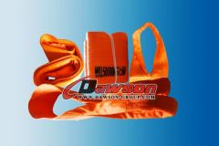 WLL 50Ton Polyster Webbing Slings, 50,000 Kg Heavy Duty Web Slings - China Manufacturer
