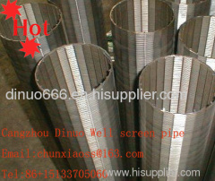 Pipe-Base Vee-Wire Screen