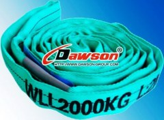 WLL 2000KG Endless Round Slings, Polyester Roundslings China Slings Manufacturers