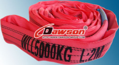 Polyester Round Slings EN 1492-2 WLL 5000KG, 5 TON China Manufacturers