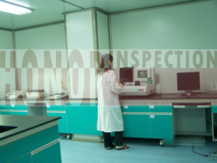 Laboratory testing inspection