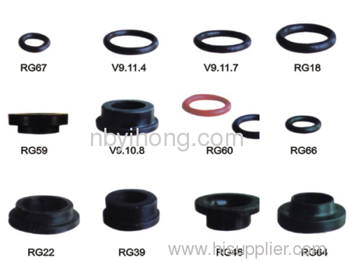 Various types of washers