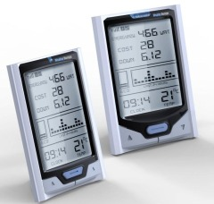 Wireless In-home display (IHD) for smart meters and solar inverters