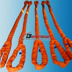 polyester round slings eye-eye china manufacturers