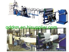 PE foam sheet extrusion line/PP sheet production machine