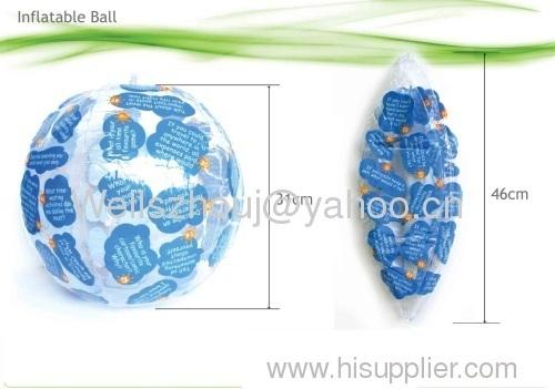 beach ball Inflatable beach ball ball pvc beach ball
