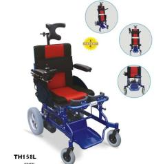 Electrical Wheelchair with standing facility