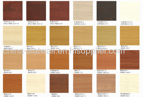 Melamine Mdf Have Hundreds Of Colors Such As Beech Oak Walnut Cheery Maple Orange Black White Pink Blue Green Ect