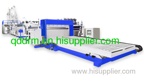 PP corrugated sheet extrusion /PP sheet production line