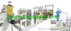 plastic transparent sheet extrusion line