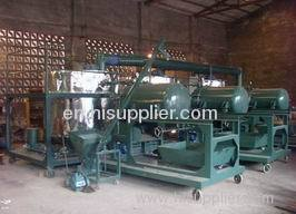 Engine & motor oil regeneration plant