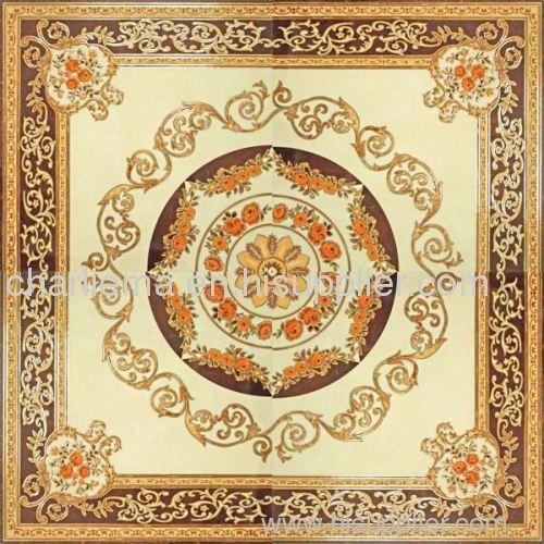 polished carpet tile