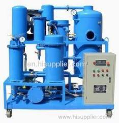 (ZJD-50) lubrication oil recycling plant