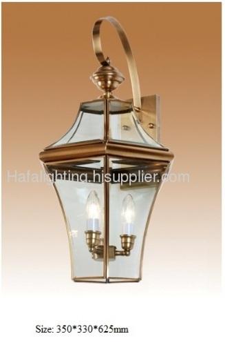 Exceptional Antique Copper Outdoor Lighting