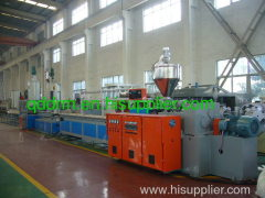 PVC profile extrusion line/profile production machine