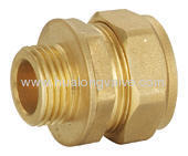 Straight Male Coupler FxC