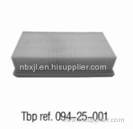 OE NO. 1372 1707 050 Air filter