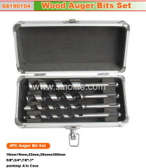 Wood Auger Bit 4pcs set