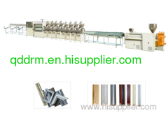 PS profile production line/profile extrusion machine
