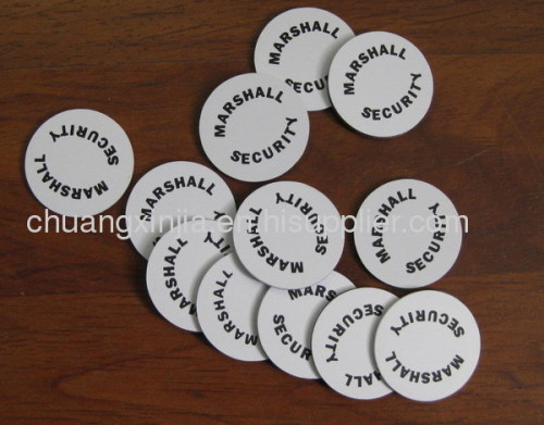Printed NFC sticker tag for POS system