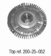 OE NO. 1152 7502 804 Clutch. radiator fan