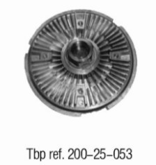 OE NO. 1741 7505 109 Clutch. radiator fan