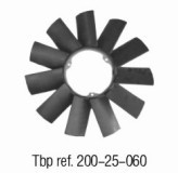 OE NO. 1152 1712 058 Fan blade