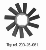 OE NO. 1152 1723 363 Fan blade