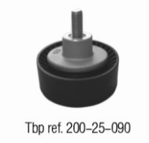 Guide pulley of BMW E46 M44 OE NO. 1128 1435 594 Febi 11334