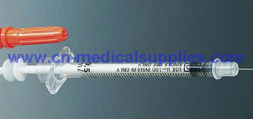 Monoject insulin syringes