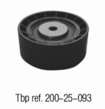 OE NO. 1128 1731 220 Vibration damper for V-ribbed belt