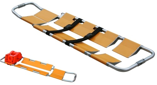 Scoop Stretcher with Head Immobilizer