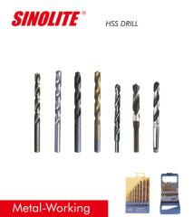 Metal cutting tools HSS drill bits DIN338 340 JOBBER drill