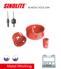 "HSS Bi-metal Hole Saw materials: M3, M42 veriable teeth 4/6 TPI teeth diameter from 14-210mm (9/16""-8-17/64"")"