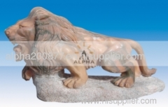 garden marble lions for sale