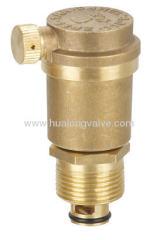 Brass auto air vent valve
