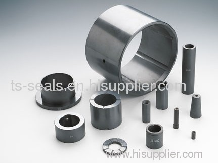 SIC bush for pump seals