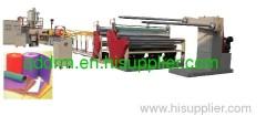 EPE foam sheet extruding machine